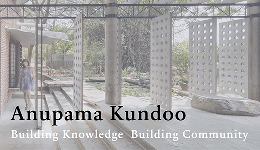 Natural Building Labs, TU Berlin: Lecture by Anupama Kundoo