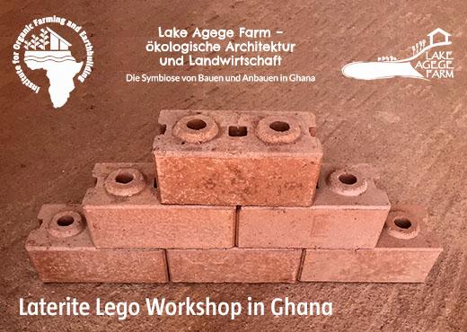 Laterite Lego Workshop in Ghana
