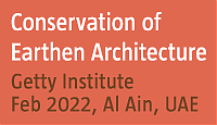 Getty Institute Conservation of Earthen Architecture course